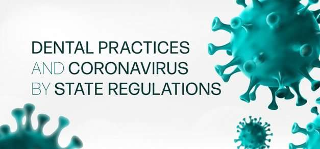 Dental Practices and Coronavirus by State Regulations