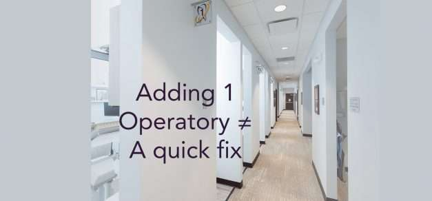 Why Adding One Operatory To Your Capacity Issue Is No Fix