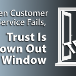 When Customer Service Fails, Trust Is Thrown Out the Window