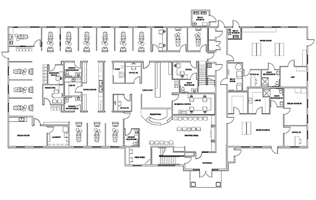 Dr. Mark Garner's floorplan
