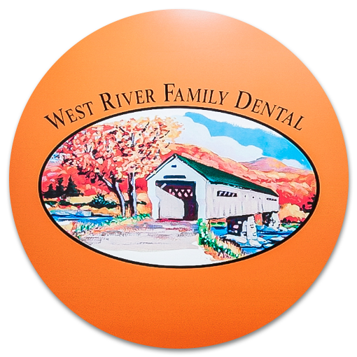 West River Family Dental reception signage