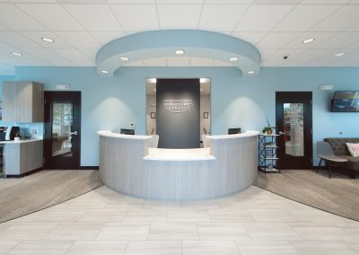 Wang + Cortes Dental Reception