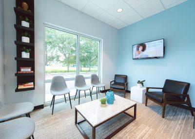 Wang + Cortes Dental Waiting Room