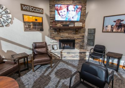Rider Family Dentistry Waiting Room