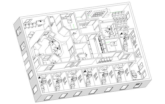 Clear Springs Dentistry Floorplan