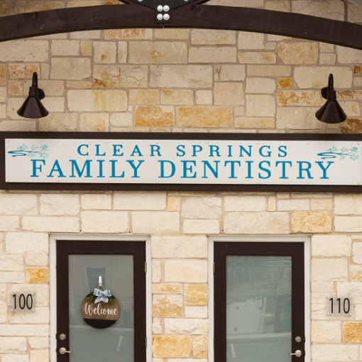Clear Springs Dentistry Exterior Signage
