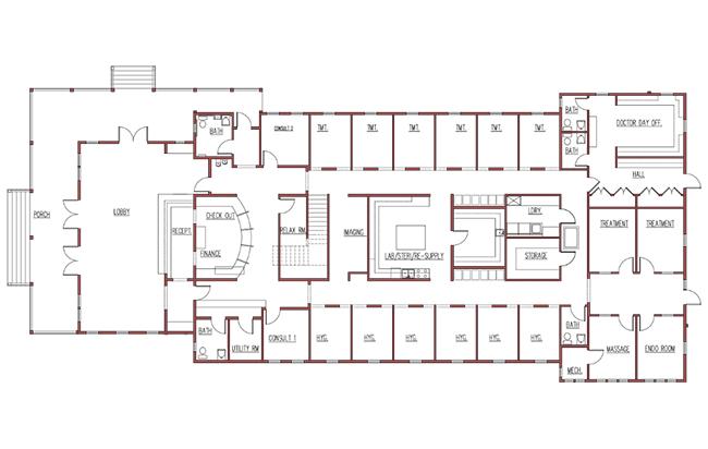 Floor plan - Technical drawing