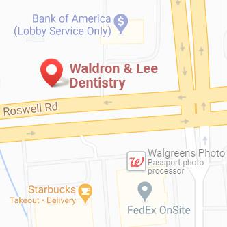 Waldron & Lee Dentistry map location