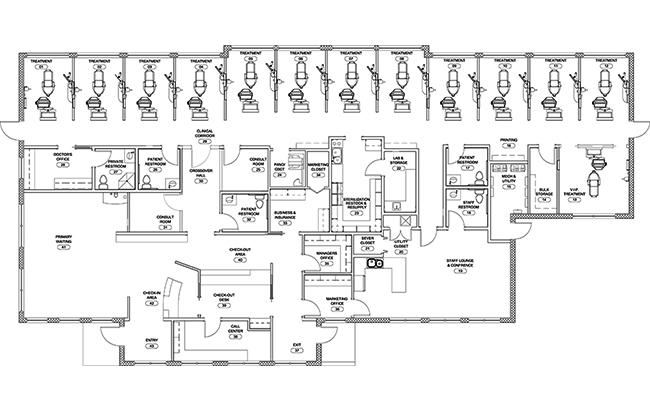 Dr. David Willey's floorplan