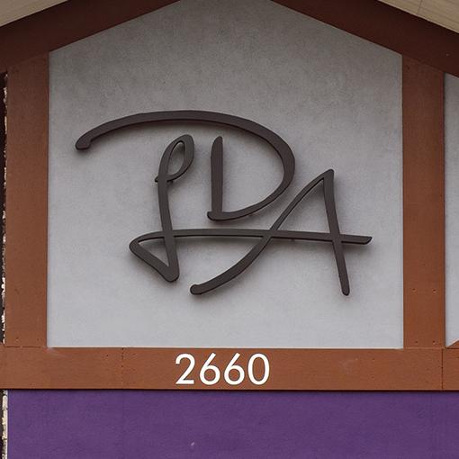 Lakeside Dental Arts signage