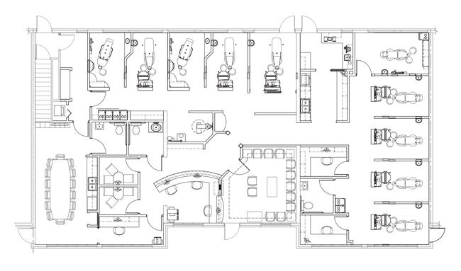 Watterson Family Dentistry's floorplan