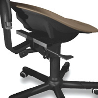 RGP stool for practitioners with 3 way adjustments