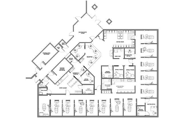 Dr. John Dean's floorplan