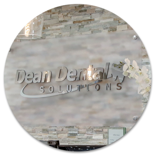 Dean Dental Solutions reception signage
