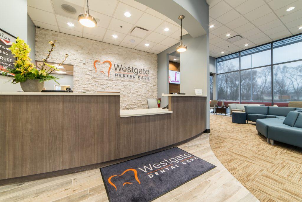 Westgate Dental Care - Reception Area
