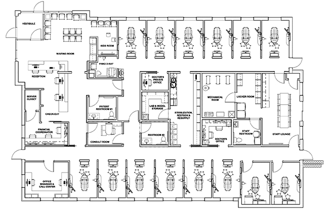 Dr. Shawn Knorr's floorplan
