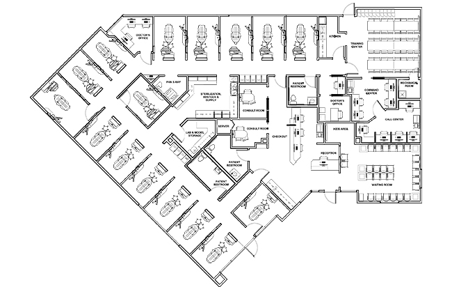 Dr. Purvak Parikh's floorplan