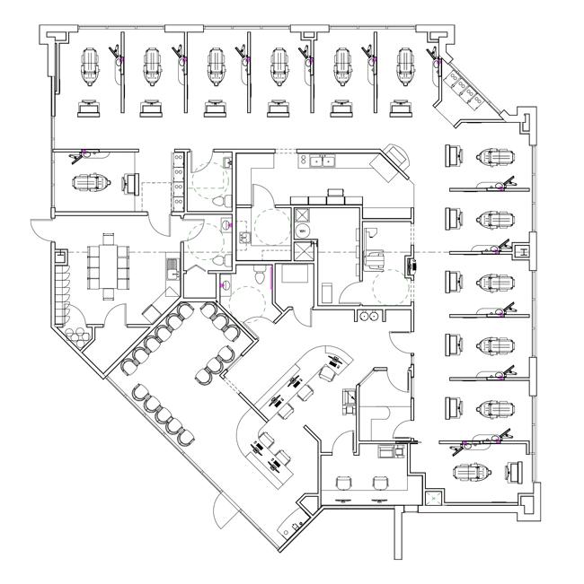 Real Life Dental Care Offices Design Ergonomics