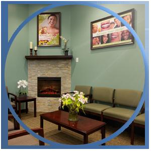 Interior Design of a dental practice waiting room